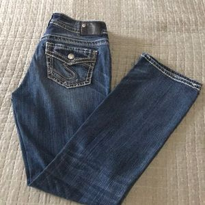 Like new Silver Jeans Co. Suki Slim boot jeans